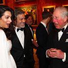 Les Clooney et le prince Charles