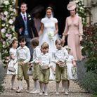 Le prince George avec les autres garçons d'honneur au mariage de Pippa Middleton en 2017