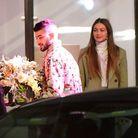 Zayn Malik reçoit des fleurs pour son 27e anniversaire
