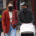Le couple avec Khai à New York