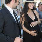 Mélanie Doutey enceinte en juillet 2009