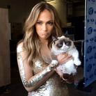 Avec Jennifer Lopez