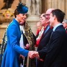 Kate Middleton à Westminster Abbey