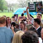 Un fan a réussi à capter l'attention du prince Harry