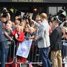 Harry et William au contact de la foule