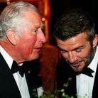 Le prince Charles et David Beckham