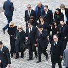 Ulla Thorsell, Katia Aznavour et les proches du chanteur
