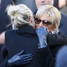 Brigitte Macron et Laeticia Hallyday