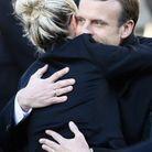 Laeticia Hallyday et Emmanuel Macron