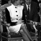 La princesse Diana à la mairie de Paris, 1988