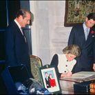 Signature du livre d'or