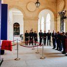 La famille assiste à la bénédiction du cercueil de Jacques Chirac