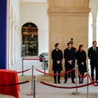 La famille Chirac présente aux Invalides