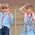 Jacques et Gabriella de Monaco au E-Prix de Monaco