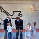 Pierre Casiraghi discute avec Jacques de Monaco