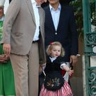 Le prince Albert et la princesse Gabriella