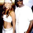 En couple avec P Diddy en 1999