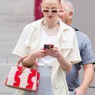 Sophie Turner avec un sac Louis Vuitton