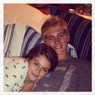 Avec son frère Presley