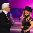 Karl Lagerfeld et Britney Spears