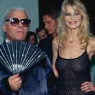 Karl Lagerfeld et Claudia Schiffer