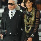 Karl Lagerfeld et Inès de la Fressange