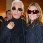 Karl Lagerfeld et Kate Moss
