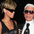 Karl Lagerfeld et Rihanna