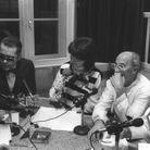 Avec André Courrèges, sur Europe 1 (1984)