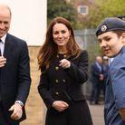Le duc et la duchesse ont visité le 282ème escadron de la Royal Air Force Air Cadets
