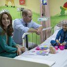 Kate et William se sont rendus au Shaukat Khanum Memorial Cancer Hospital
