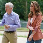 Kate Middleton a été accueillie par le directeur du musée