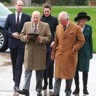 La famille royale arrive à Loughborough
