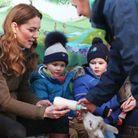 Elle a rendu visite à l'Ark Open Farm