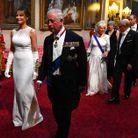 Le prince Charles et Melania Trump