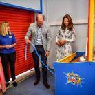 Kate et William ont essayé plusieurs attractions