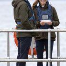 Kate Middleton et William en Écosse
