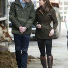 Kate et William complices pendant leur visite