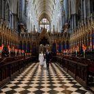 Le couple a remonté l'allée de Westminster, où ils se sont mariés en 2011