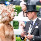 Le prince William et la reine Maxima des Pays Bas