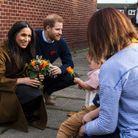 Meghan et Harry à Windsor