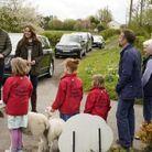 Kate et William dans une ferme de Durham