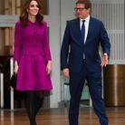 Kate Middleton arrive à la Royal Opera House