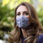 L'épouse du prince William porte un masque