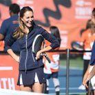 Kate Middleton était visiblement ravie de jouer aux côtés d'Emma Raducanu