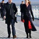 Kate Middleton porte une robe Zara pour l'occasion