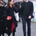 La duchesse se montre tactile avec le prince William