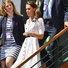 Kate Middleton arrive à WImbledon