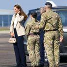 Elle souhaite discuter avec les troupes mobilisées en Afghanistan