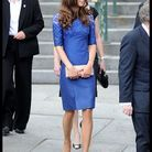 People tendance mode kate middleton canada robe bleue